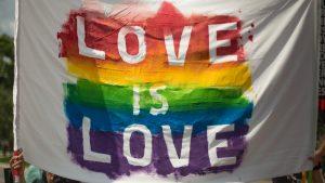 Love is Love Pride Flad