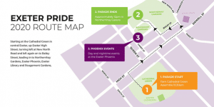 Exeter Pride Route